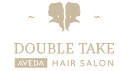 Double Take Salon Logo